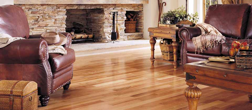 bring character to any room with new hardwood flooring